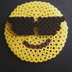 Emoticon hama beads by  havenothingtodo