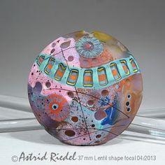 Astrid Riedel Glass Artist: Mokume gane series...