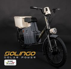 Wayel Electricbikes firma Solingo, cityrunner solare 100% made in Italy