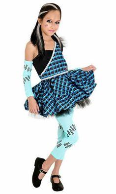 Fantasia Infantil Frankie Sweet(Doce) Luxo Sulamericana Monster High Original :: FantasiasCarol