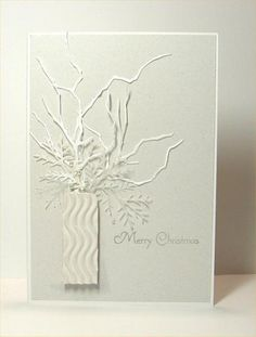 IC414 White for Christmas by donidoodle - Cards and Paper Crafts at Splitcoaststampers  <B branch