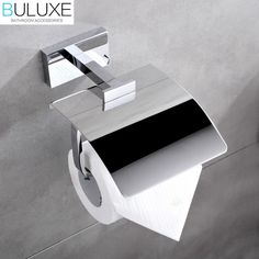 68.00$  Watch now - http://alixa6.worldwells.pw/go.php?t=32767501716 - Brass Bathroom Accessories Toilet Paper Holder Chrome Finished Wall Mounted Bath Acessorios de banheiro HP7758 68.00$