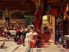 Camille-Joseph-Etienne Roqueplan - Van Dyck à Londres