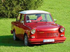 Sachsenring Trabant 1.1 Limousine with Wartburg's 1.3l Engine and 61hp