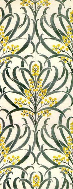 coquidv:  Callum wallpaper Voysey, 1896