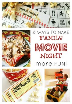 8 Ideas to Make Family Movie Night more FUN! - Movie Nights are one of the ways we save money, by watching DVDs at home