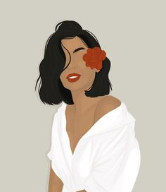 Girls Cartoon Art, Abstract Face Art, Ilustration Art, Line Art Drawings, Illustration Art Girl, Portrait Illustration, Illustration Art Drawing, Painting Art Projects, Portrait Girl