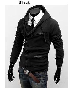 Saku Japan Men Skinny Stylish Slim Fit Jacket 2013... Only because men's clothing actually fits me well...