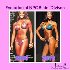 Bikini bodybuilding figure npc and