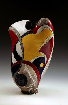 Five contemporary American ceramic artists that use abstract concepts in their decorative styles that I feel are a skilful and intuitive representation of this deep and fascinating medium. Abstract Sculpture, Sculpture Art, Ceramic Sculptures, Mannequin Art, Aboriginal Painting, Contemporary Ceramics, Ceramic Artists, Artwork, Prints