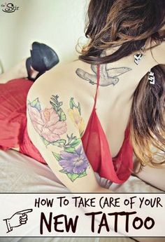 All the Tattoo Care Tips you need to keep your ink looking great! https://thestir.cafemom.com/beauty_style/170926/tattoo_care_tips_that_will