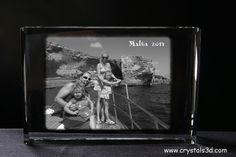 Holiday picture - can be engraved with www.crystals3d.com