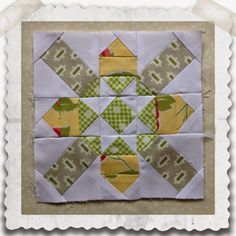 Threadbare Creations: Chatelaine Free BOW Sampler Quilt Block 21