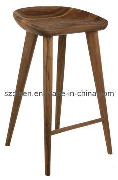 Wood Bar Stool (DS-L012)