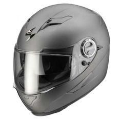 Casco integrale Scorpion Exo 500 Air Antracite Opaco : Abbigliamento Moto, Accessori Moto