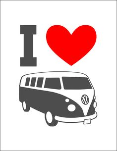 I figured I could squeeze one more use out of the VW bus graphic I made for Andrea's banner . Here's what I came up with: