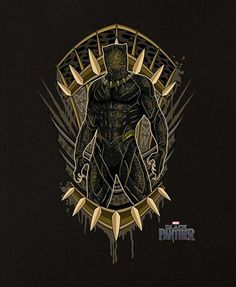 Black Panther Movie Poster Featuring Erik Killmonger In Golden Jaguar Suit, Check Out the Black Panther Trailer Breakdown and Missed Details - DigitalEntertainmentReview.com