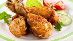 Chicken legs with honey