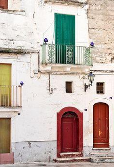 Colors of Puglia, Italy