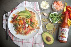 Shrimp Fajita Mac & Cheese // shutterbean