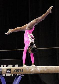 Olympic hopeful Gabrielle Douglas- 2011 World Championships Team Gold Medalist