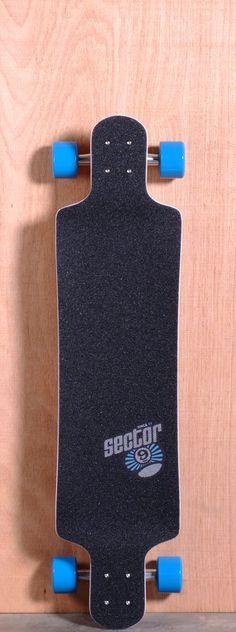 "Sector 9 39.5"" Faultline Longboard Complete - Orange"