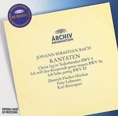 BACH KantatenBWV 4,56,82 - Fischer-Dieskau - Deutsche Grammophon