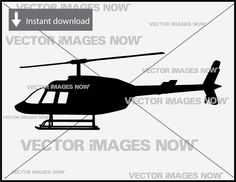 Helicopter Vector Images Clipart SVG File AI EPS PNG A1