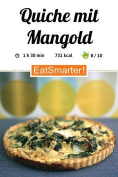 Gesunder Feierabend: Quiche mit Mangold - kalorienarm - einfaches Gericht - So gesund ist das Rezept: 8,9/10 | Eine Rezeptidee von EAT SMARTER | Ballaststoffreiches Gebäck, Clean Eating, Vollkorn, Ohne Alkohol, Vegetarisch, Vegetarisches Mittagessen, Vegetarisches Abendessen, Vegetarische Hauptgerichte, Vitaminreich, Klassiker, Feierabend-Rezepte, Günstige-Rezepte, Was backe ich heute?, Bürgerlich, Einfache, Für jeden Tag, Hausmannskost, Gemüse #quiche #gesunderezepte Eat Smarter, Clean Eating, Eggs, Breakfast, Food, Savory Snacks, Vegetarian Main Dishes, Vegetarian Lunch, Poor Mans Recipes