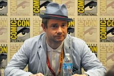 Martin Freeman ComiCon2012. He rocks the greatest outfits!