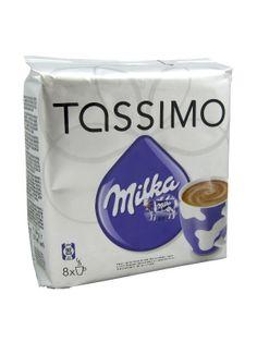 Tassimo Kawa Mielona w Kapsułkach  • kapsułki do ekspresu Tassimo • 8 porcji kawy • o smaku czekoladowym • słodka, aromatyczna i gęsta