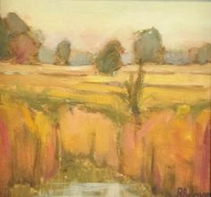 """Glacier Ridge"", plein air oil painting by Robie Benve"