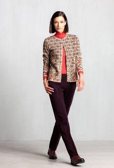 Cardigan Floral Pattern - Cardigan | Ivko Woman