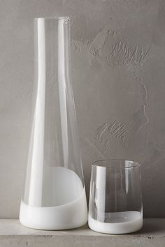 Meniscus Decanter Set - anthropologie.com