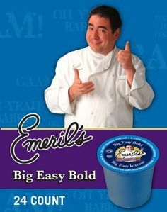 BIG EASY BOLD COFFEE K CUP 120 COUNT