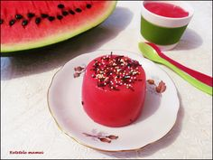 Budincă de lubeniță (pepene roșu)