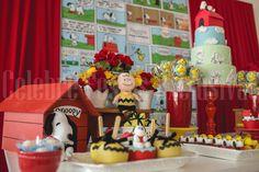 Snoopy themed birthday party via Kara's Party Ideas KarasPartyIdeas.com #snoopyparty (5)