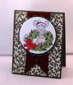 SCSCCMAR12 Green henry by Twinshappy - Cards and Paper Crafts at Splitcoaststampers