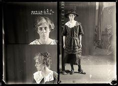 Sydney Police - vintage mugshots - 1920's
