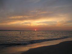 Sunset in Treasure Island Florida