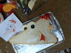 Phineas...from Phineas and Ferb!