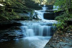 Buttermilk Falls State Park, Ithaca NY