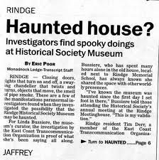 paranormal newspaper clippings - Google Search