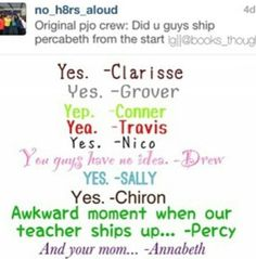 Wait. NICO????? pretty sure he didn't... until Percy wasn't his type anymore