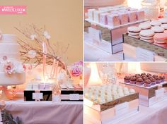 Steal some ideas from a luxe wedding's candy buffet