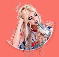 Cartoon art girl tags 35 Ideas for 2019 Digital Art Girl, Digital Portrait, Portrait Art, Cartoon Girl Drawing, Girl Cartoon, Cartoon Drawings, Outline Art, Outline Drawings, Cartoon Kunst