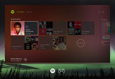 Spotify for Playstation designed by graylabel for Spotify. Connect with them on Dribbble; Tv App, App Ui, Childish Gambino, Party Mix, Your Music, User Interface, Playstation, Songs, Landing