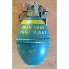 SADF Deactivated M26A3 Practice Hand Grenade Variant. Totally Inert.