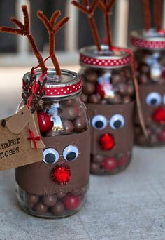 Make Christmas gifts yourself - 40 ideas for personal Weihnachtsgeschenke selber basteln – 40 Ideen für persönliche Geschenke Make Christmas gifts yourself – 40 ideas for personal gifts - Xmas Crafts, Christmas Projects, Christmas Holidays, Christmas 2019, Merry Christmas, Christmas Design, Christmas Trends 2018 2019, Jam Jar Crafts, Cheap Christmas Crafts