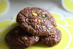 Chocolate Brownie Cookie from Joy the Baker